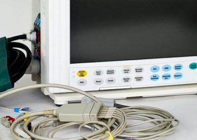 Gebrauchtgerät Monitor S5 Datex inkl. Zubehör - Englisches Bedienpaneel | TSL Medizintechnik