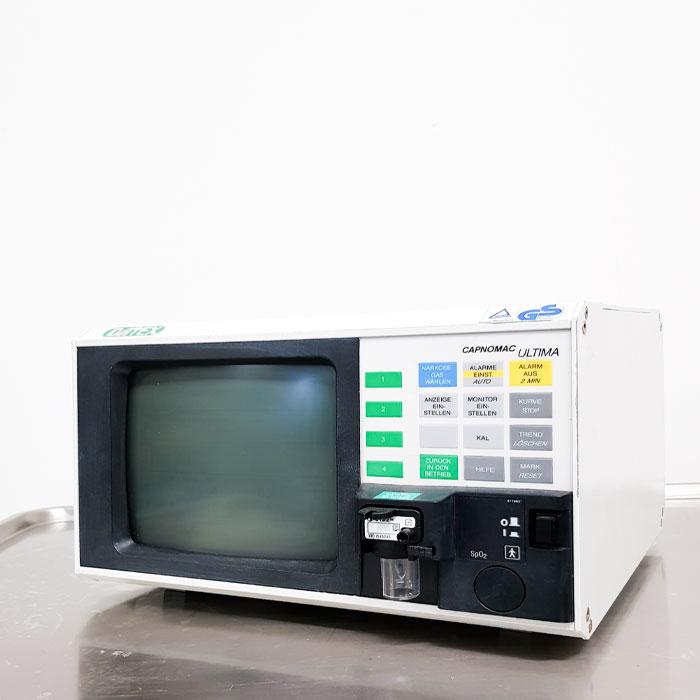 Monitor Gebrauchtgerät Datex Capnomac Ultima | TSL Medizintechnik.