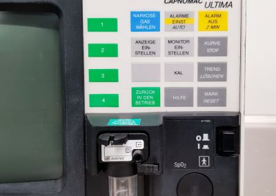 Gebrauchtgerät Monitor Datex Capnomac Ultima - TSL Medizintechnik für die Anästhesie