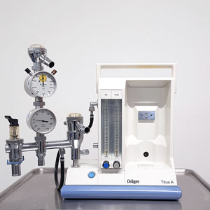 Angebot-Gebrauchtgerät. Narkosegerät Dräger Titus - TSL Medizintechnik für die Anästhesie